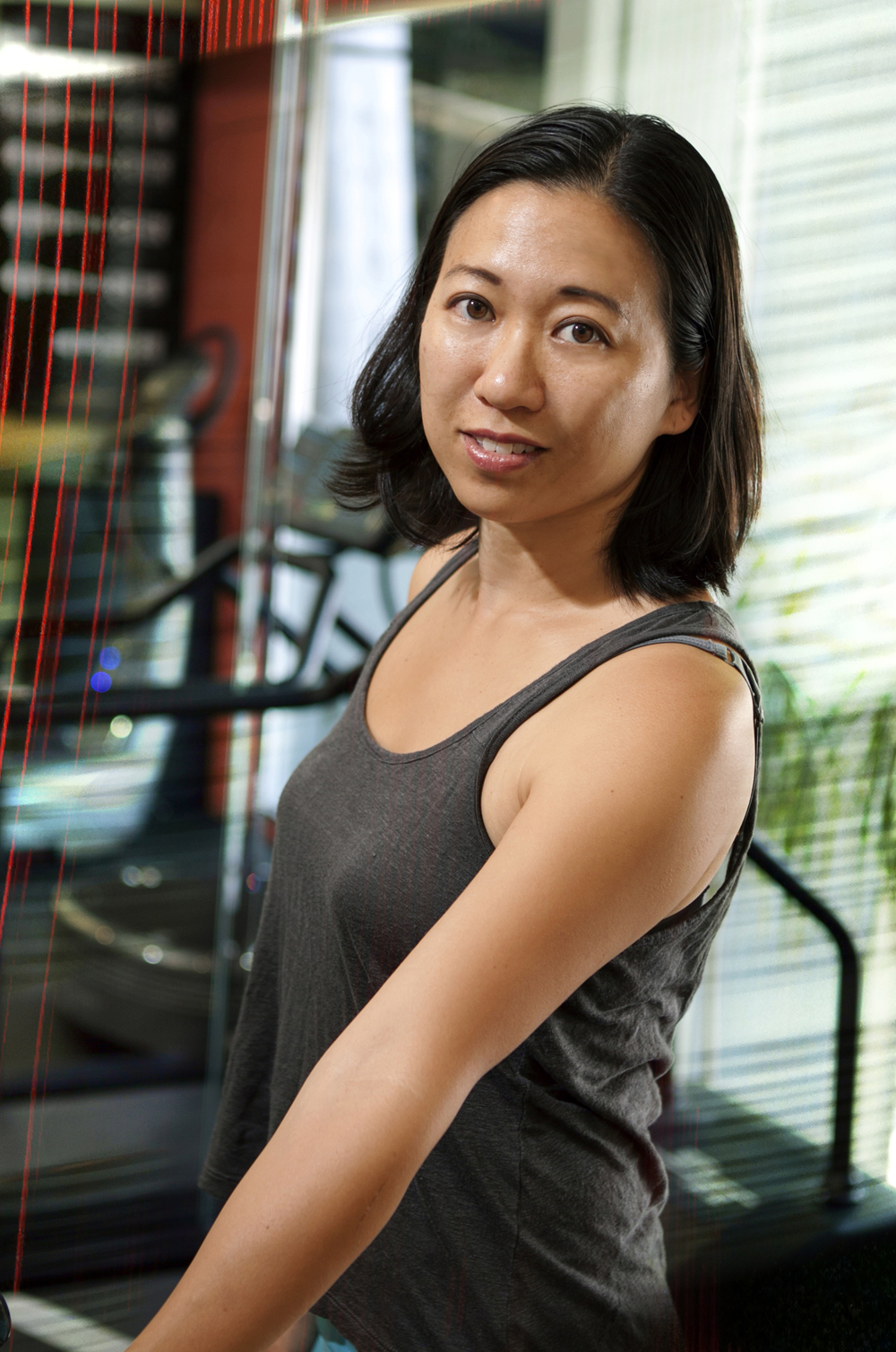 "Jennifer Cheng teaches fitness with whole-body movement analysis, designing personalized workouts from Pilates, yoga, dance, and physical therapy rehab exercises. She has received training and mentorship from rehab specialists in Europe and New York City.  With experience training prenatal and postpartum moms, athletes (including triathletes, tennis players, marathon runners, cyclists, and professional dancers), and seniors with severe injuries, Jennifer enjoys teaching fitness with creative imagery and laughter. Eager to apply exercises on the PowerPlate to conquer health challenges, Jennifer has created the wellness program ""Strength After Cancer"" to help breast cancer survivors reduce lymphedema risks and all cancer survivors gain strength after chemo and radiation treatments. She has designed exercises on the PowerPlate to help students overcome balance difficulties or strength plateaus.  Jennifer is also a Wellness+Nutrition Consultant trained by leading doctors as well as culinary experts and food writers. She provides wellness consulting to doctors' offices and a variety of clients, from athletes to cancer survivors. Jennifer loves food and enjoys teaching her clients with science and mind-body-spirit education to help them live better longer."