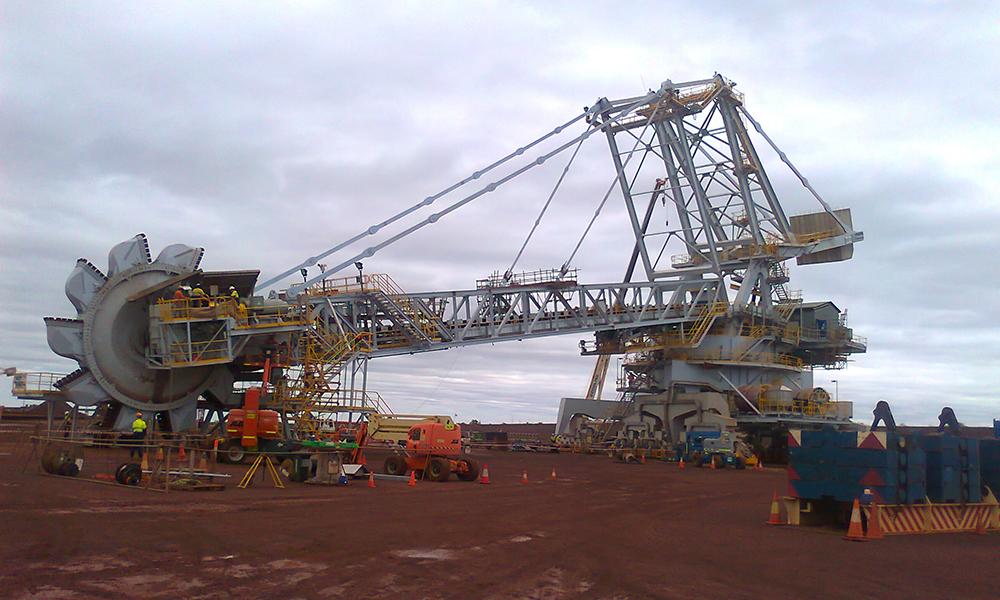 BHP / Finucane Island   1250 Tonne BWR10 Superstructure