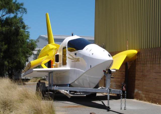 WIG DRONE / On trailer  / Henderson, Western Australia