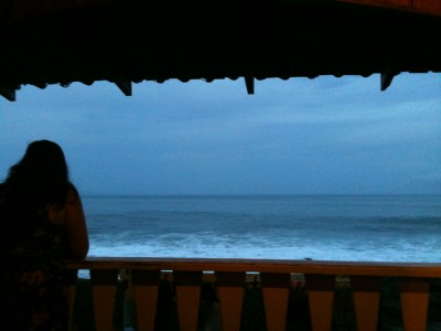 Montezuma. View hostel
