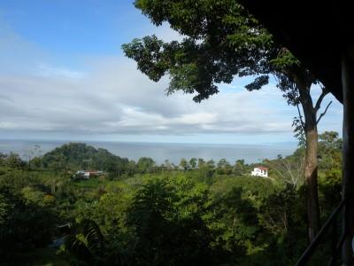Hostel view, Quepos