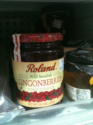 Lingonberries jam
