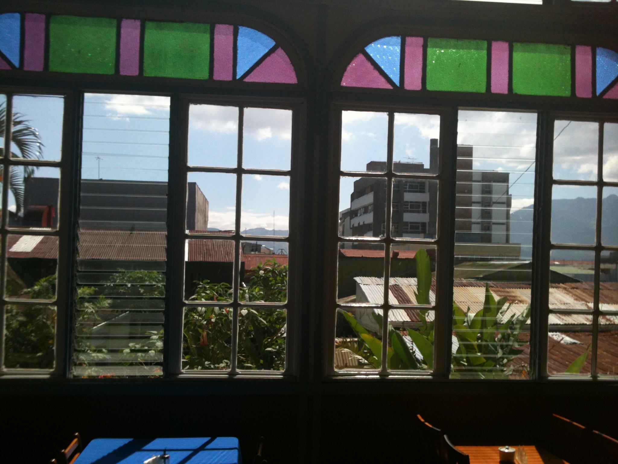San José view. Down town. Hostel close to Parque Nacional.