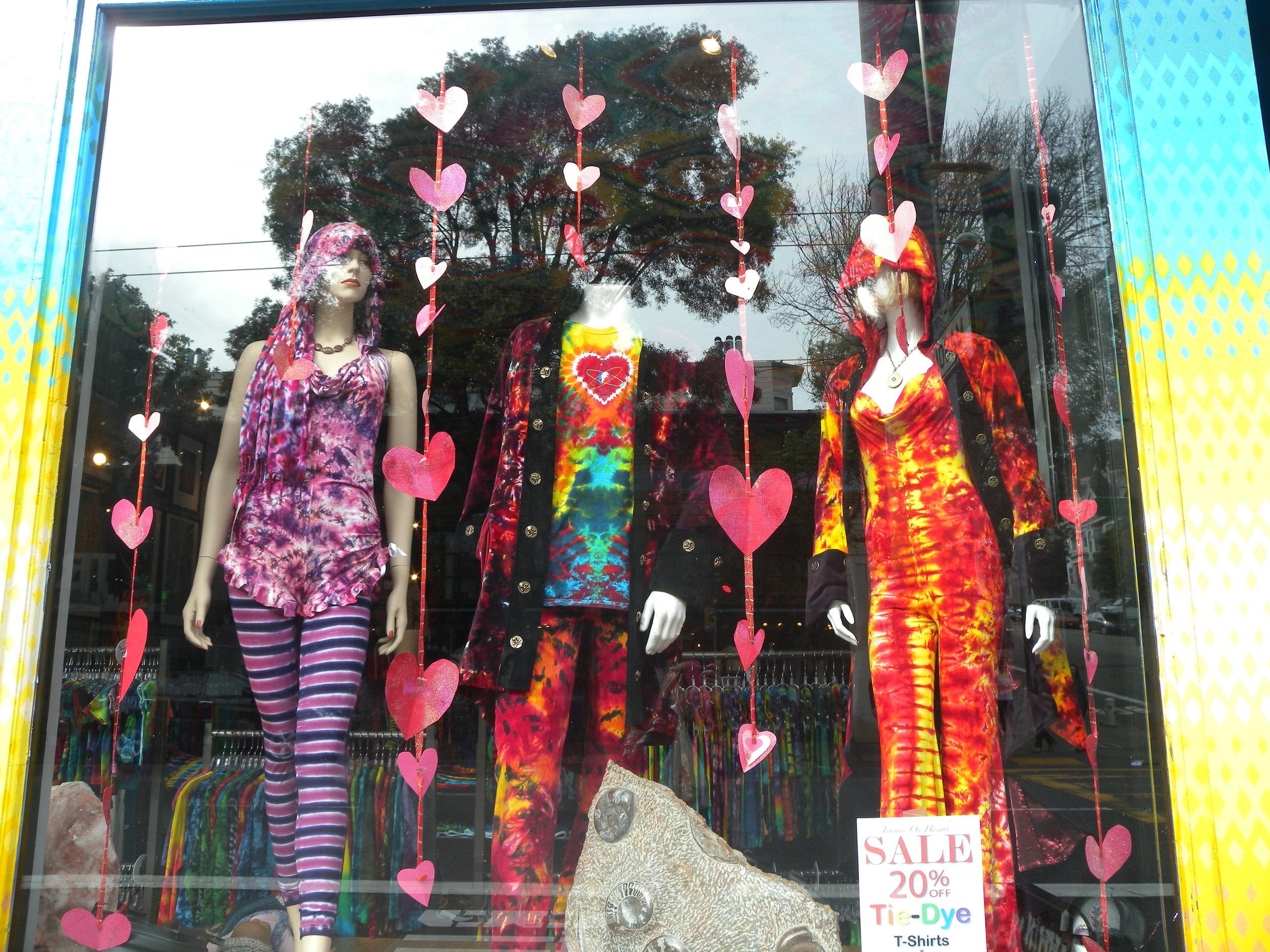 Tie-dye store Haight-Ashbury
