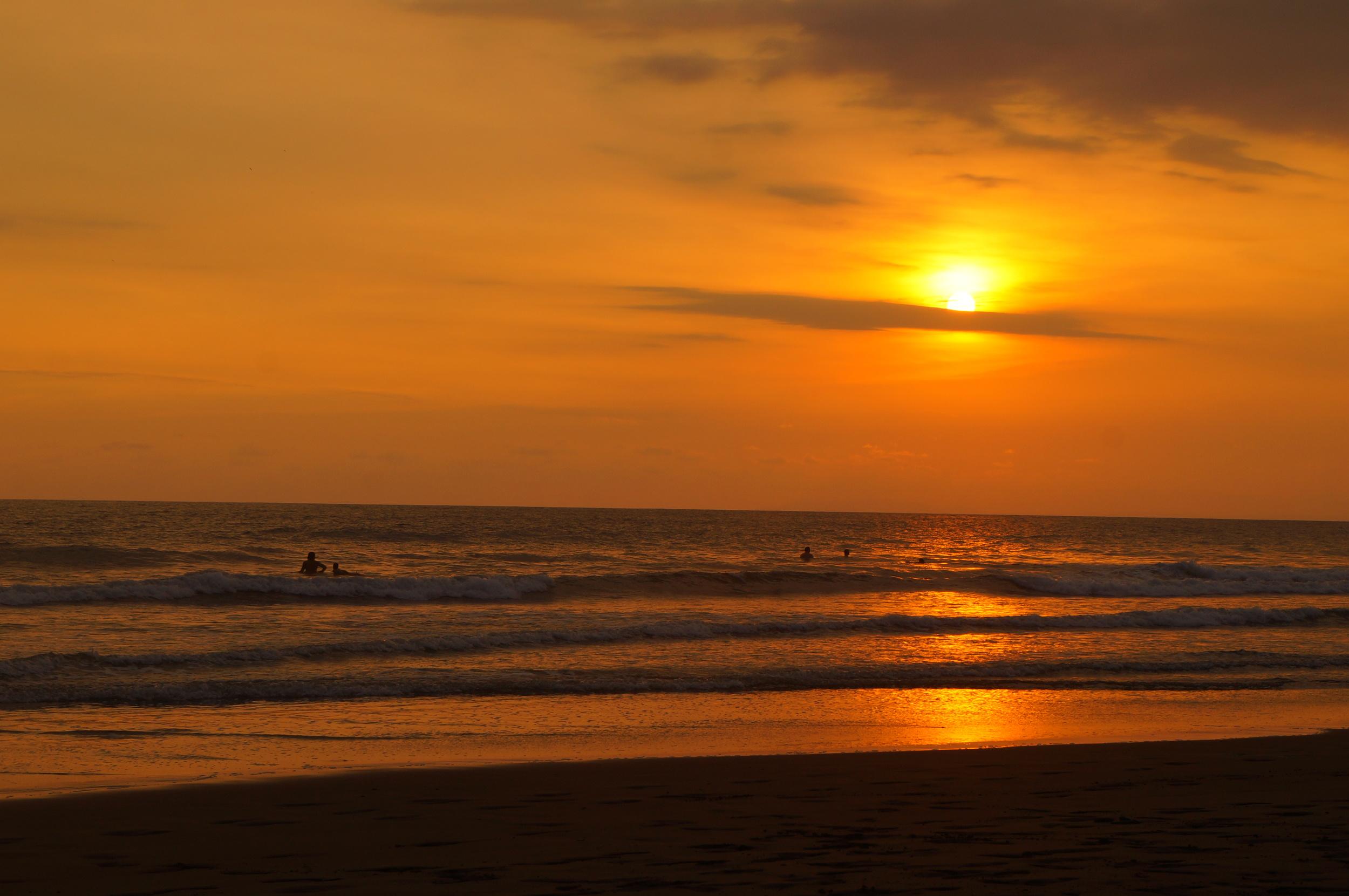 The Famous Jacó Sunset