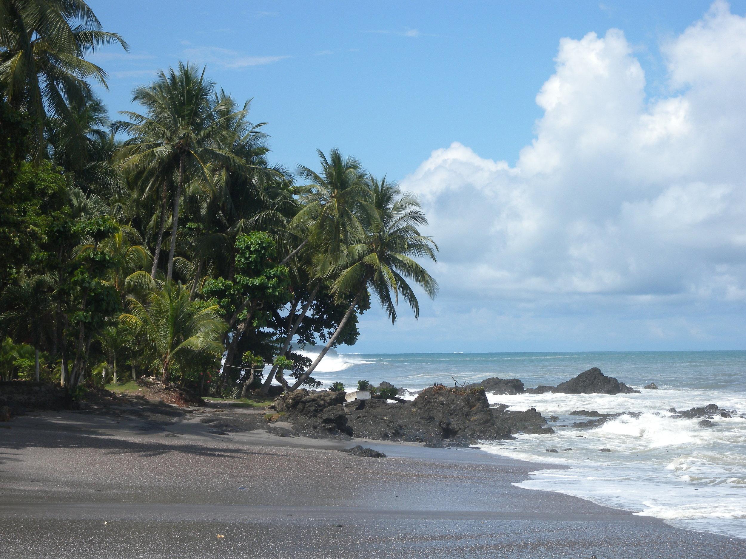 Lovely  Montezuma  on Nicoya Peninsula Costa Rica