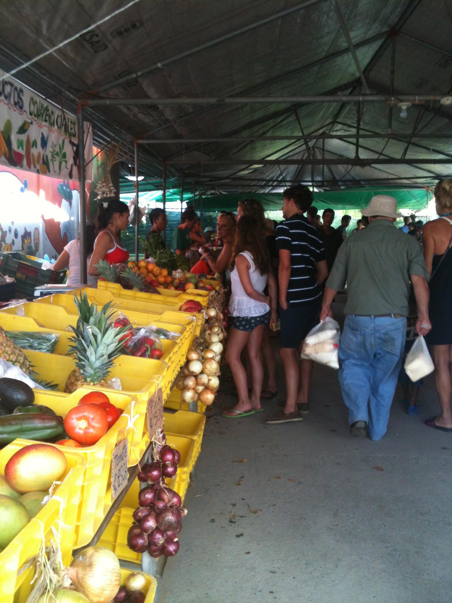 Farmers' Market Puerto Viejo, Costa Rica