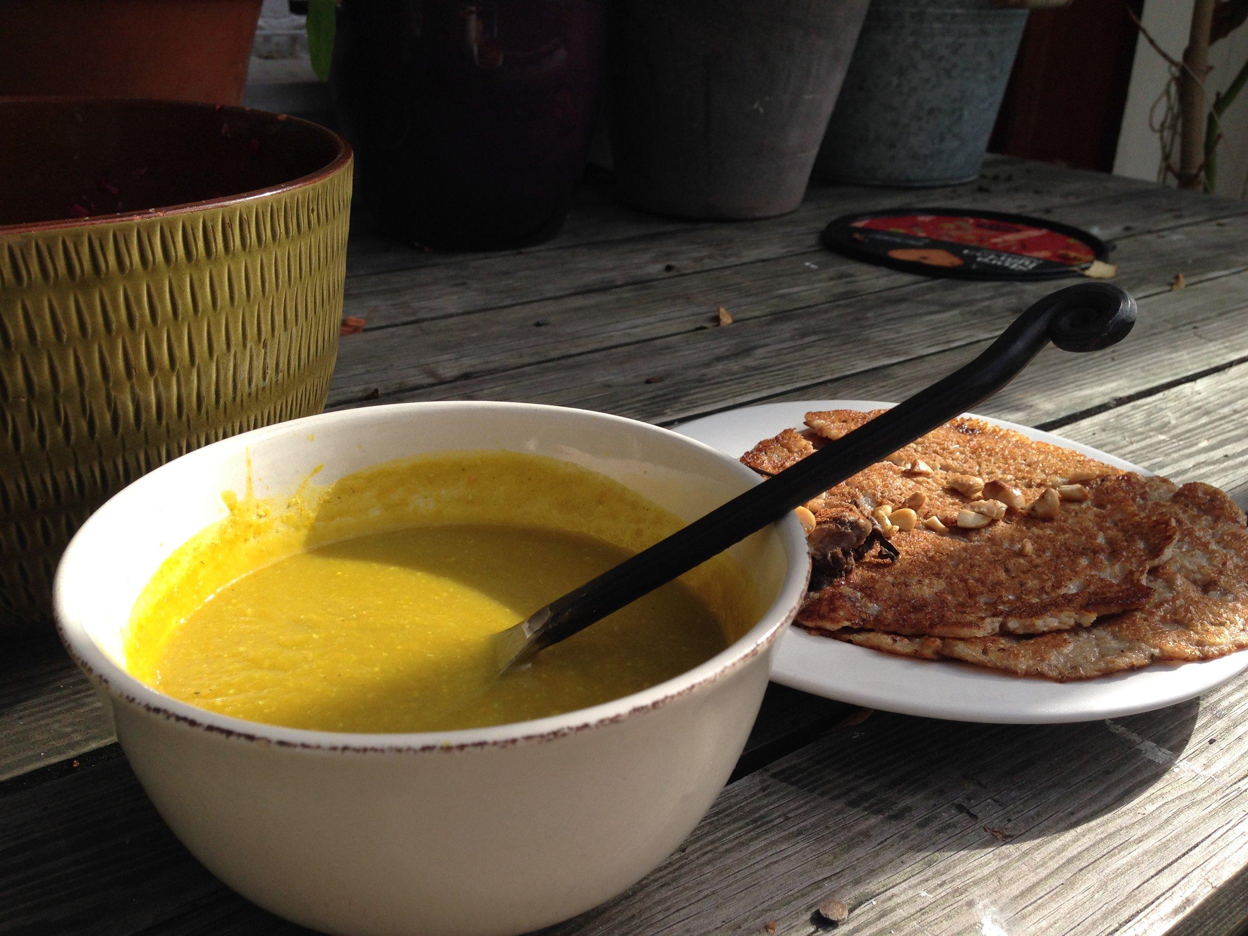 Recept på goda soppor till pannkakor hittar du under fliken SHOP-FOOD