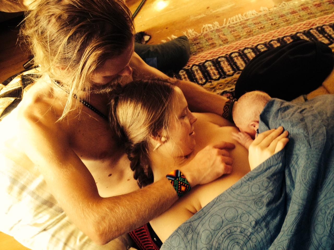 Den fantastiska känslan att ta emot sitt barn i hemmets trygghet är obeskrivlig!