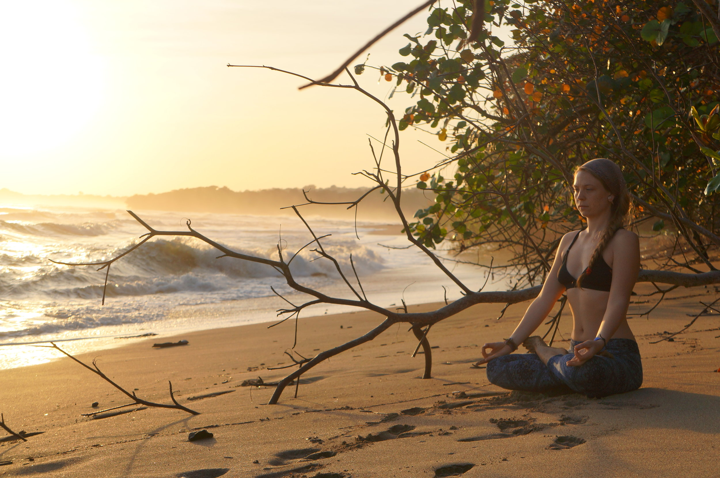 Yoga By Magie, Puerto Viejo Costa Rica. Copyrighted.
