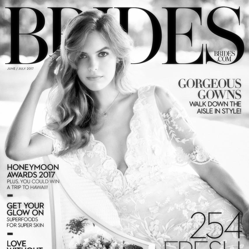 Brides Magazine - Caroline Fare Couture