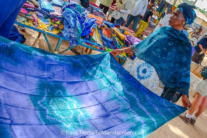 The Gambia - Tie-Dye Market