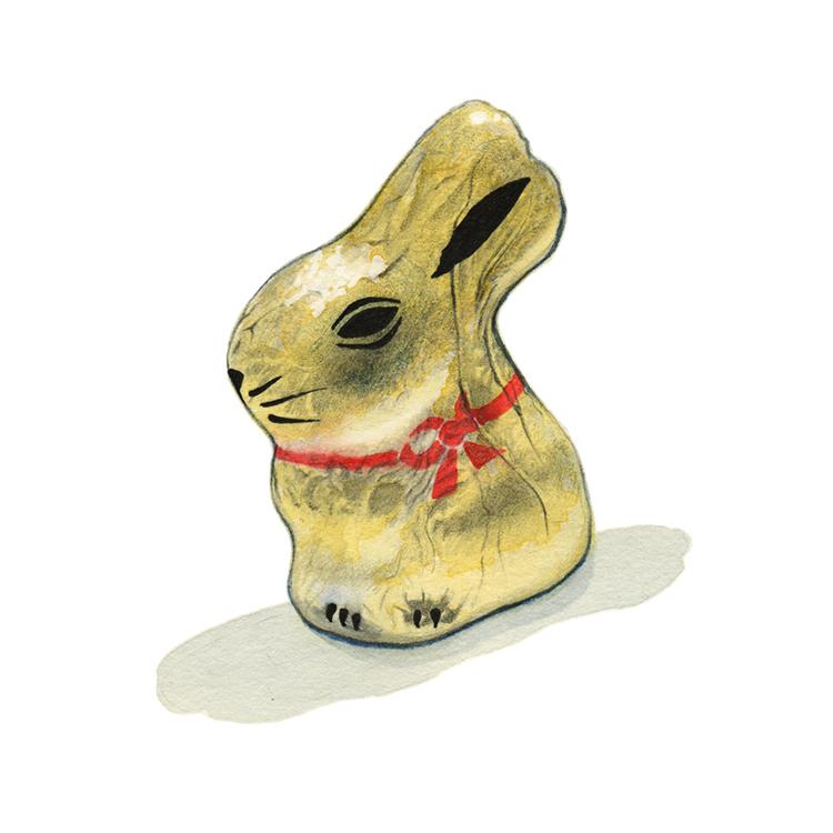 Foil Bunny - SOLD