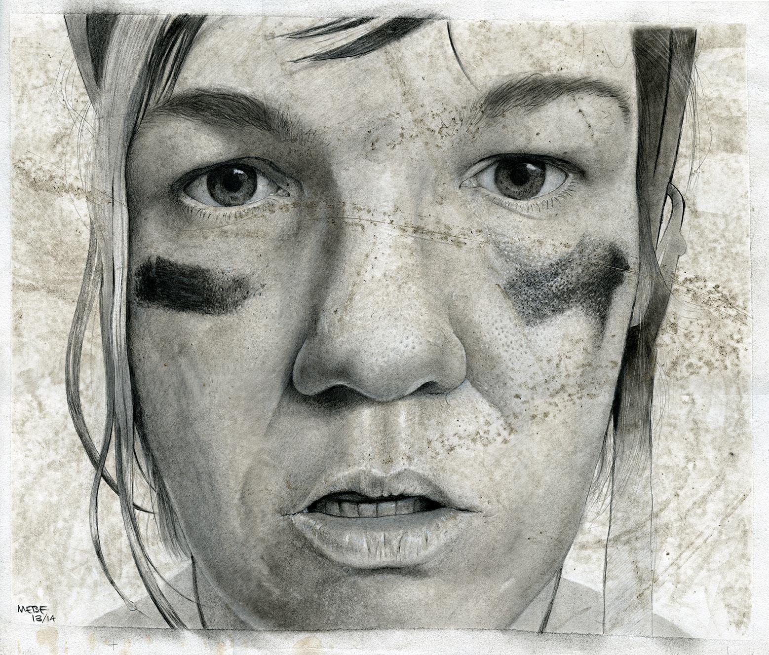 Scargyle (self-portrait)