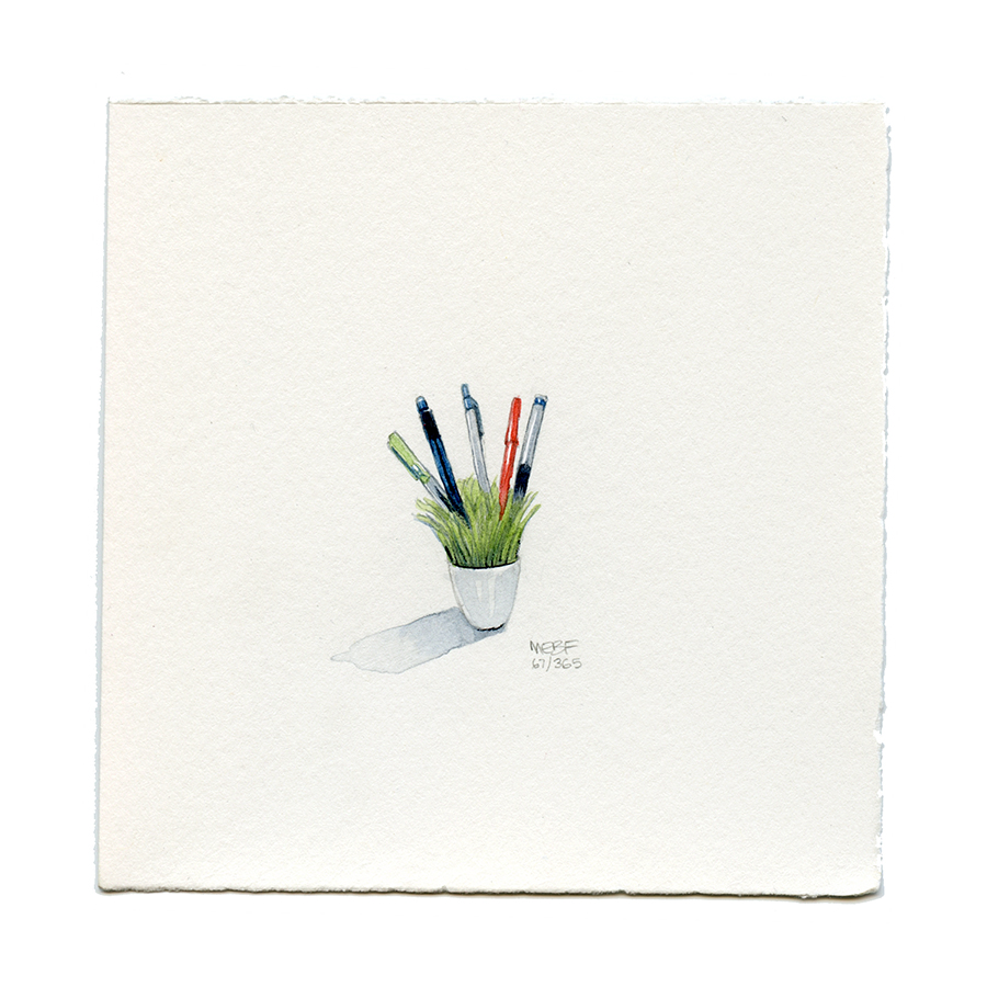 Suggested by Jackie Z. | Watercolor.