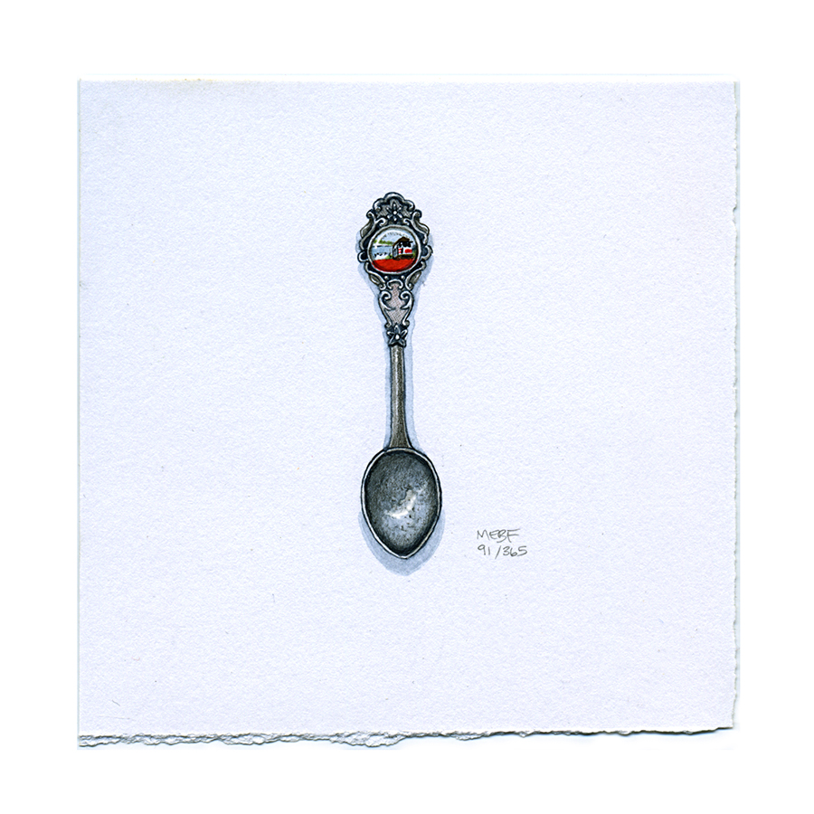 Suggested by Caty C. | Watercolor, pencil