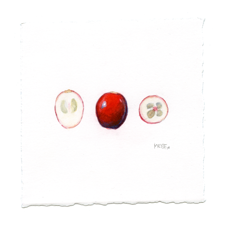 """4 x 4"""", watercolor"""