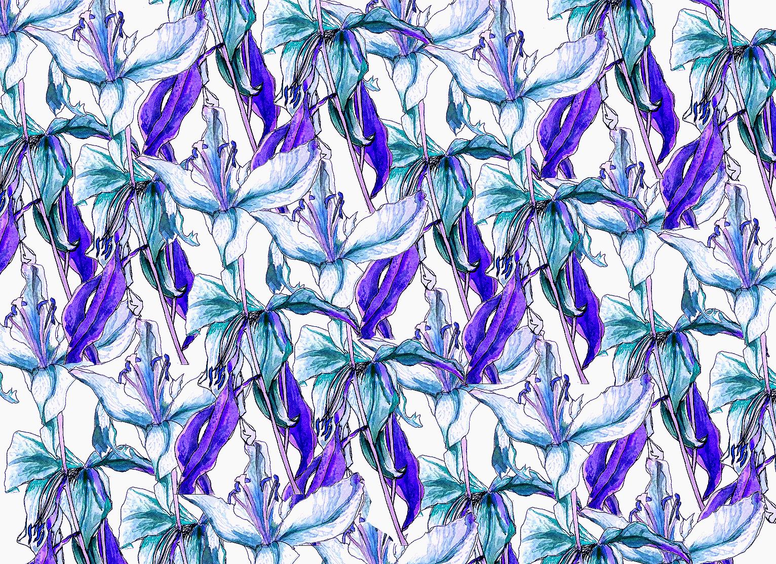 Tropical Lily Print 2.jpg