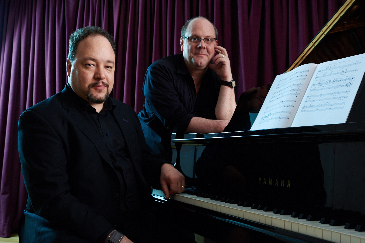 Click here to meet the composer and librettist of THREE WAY, Robert Paterson and David Cote.