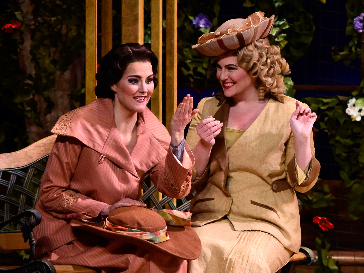 Emerging artists take roles in Nashville Opera's mainstage productions. Above, Katherine Sanford and Lacy Sauter star in  Così fan tutte,  2016.