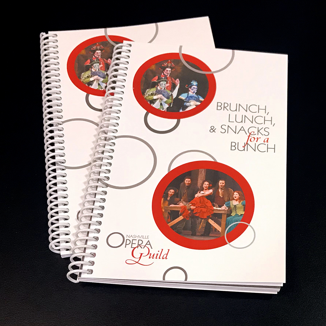 Nashville Opera Guild Cookbook $15