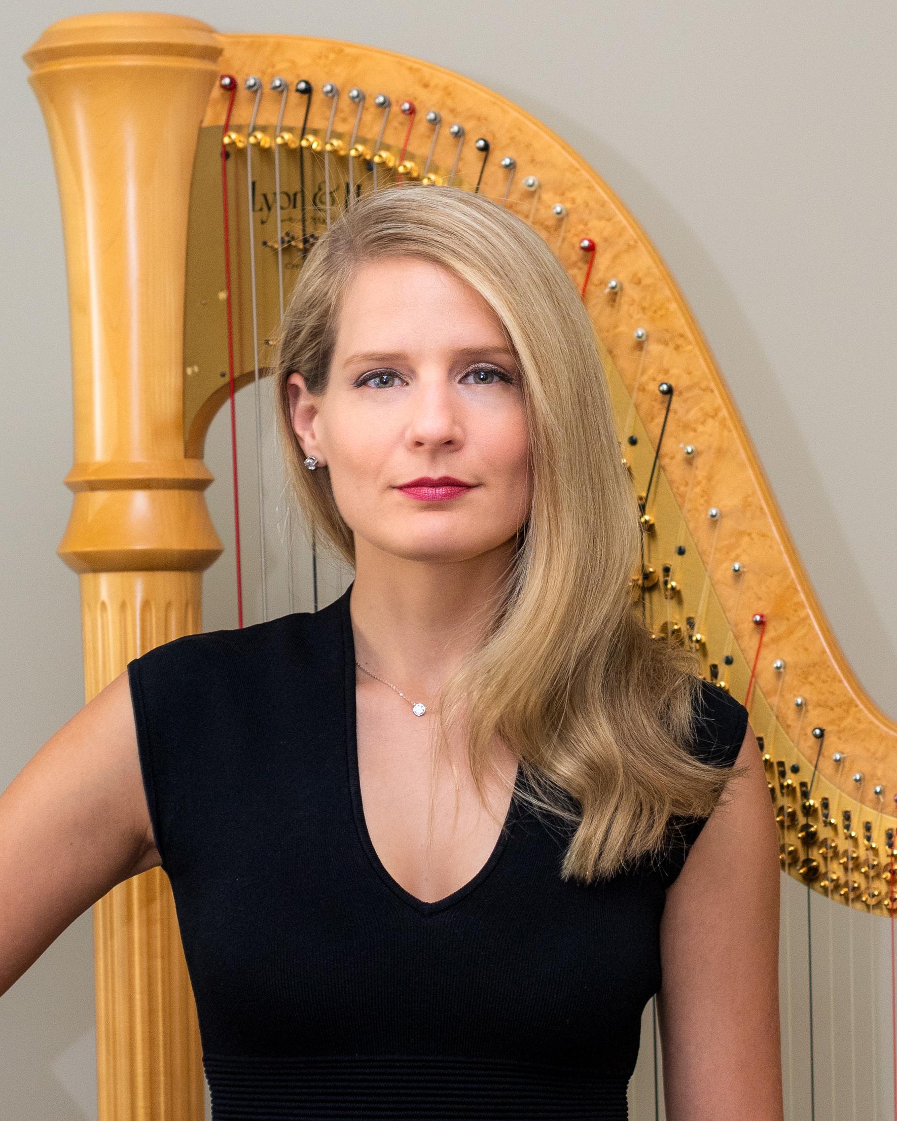 Paula Bressman, harp
