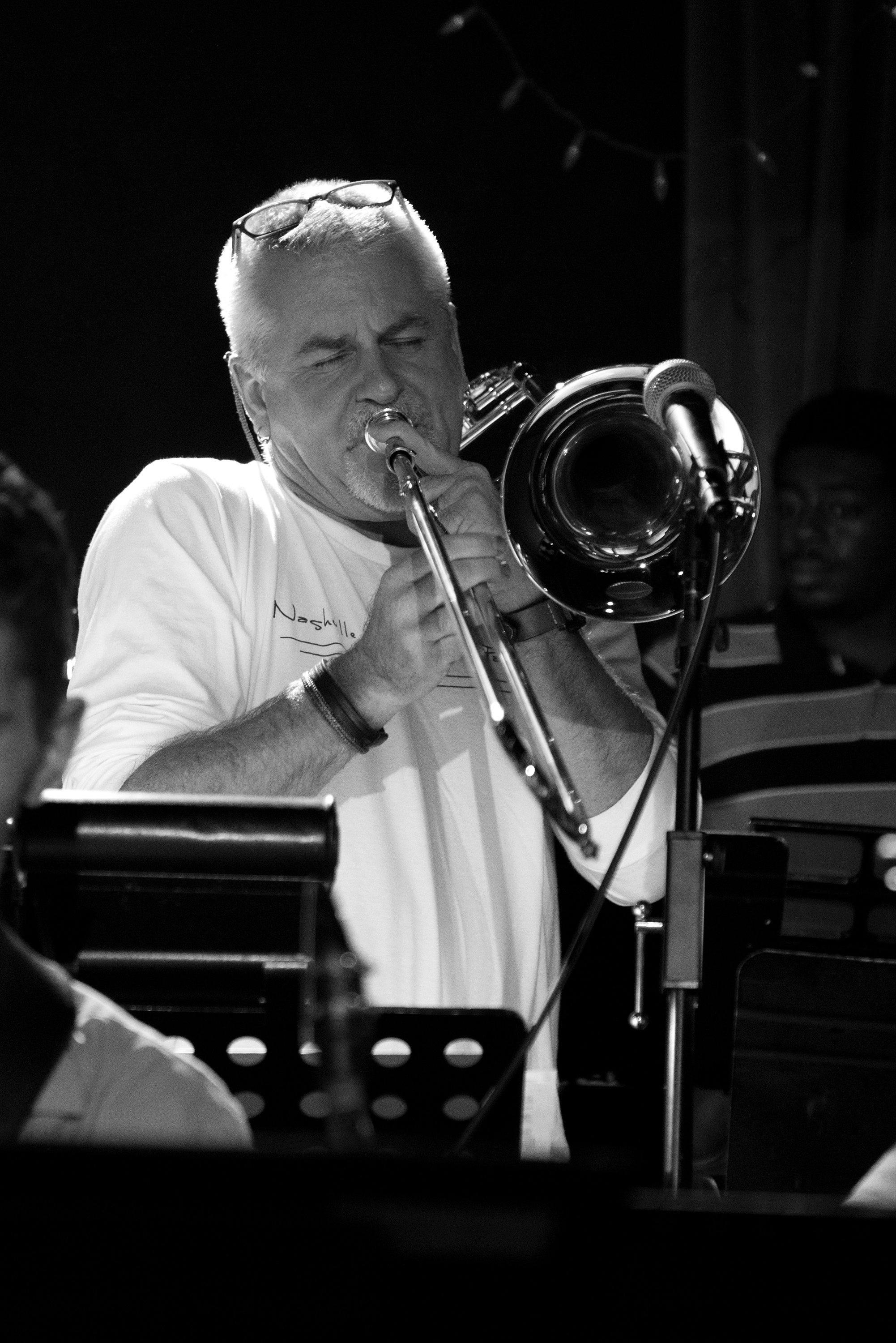 Barry Green, trombone