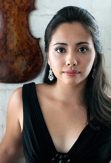 Christina McGann, concertmaster