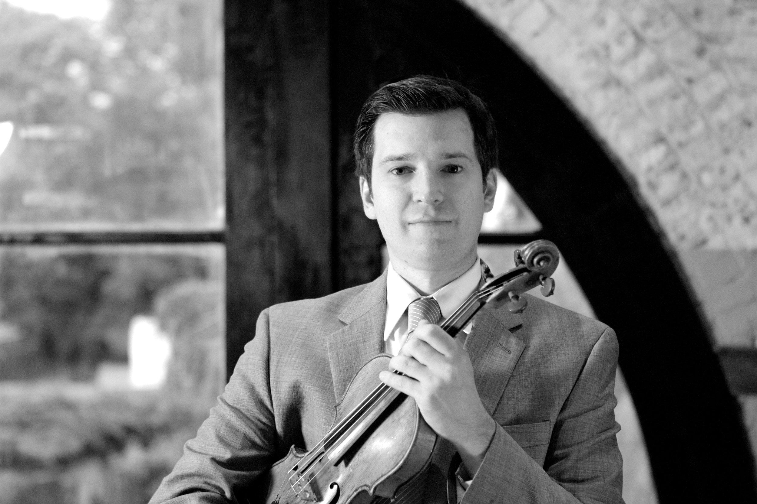 Stephen Miahky, violin