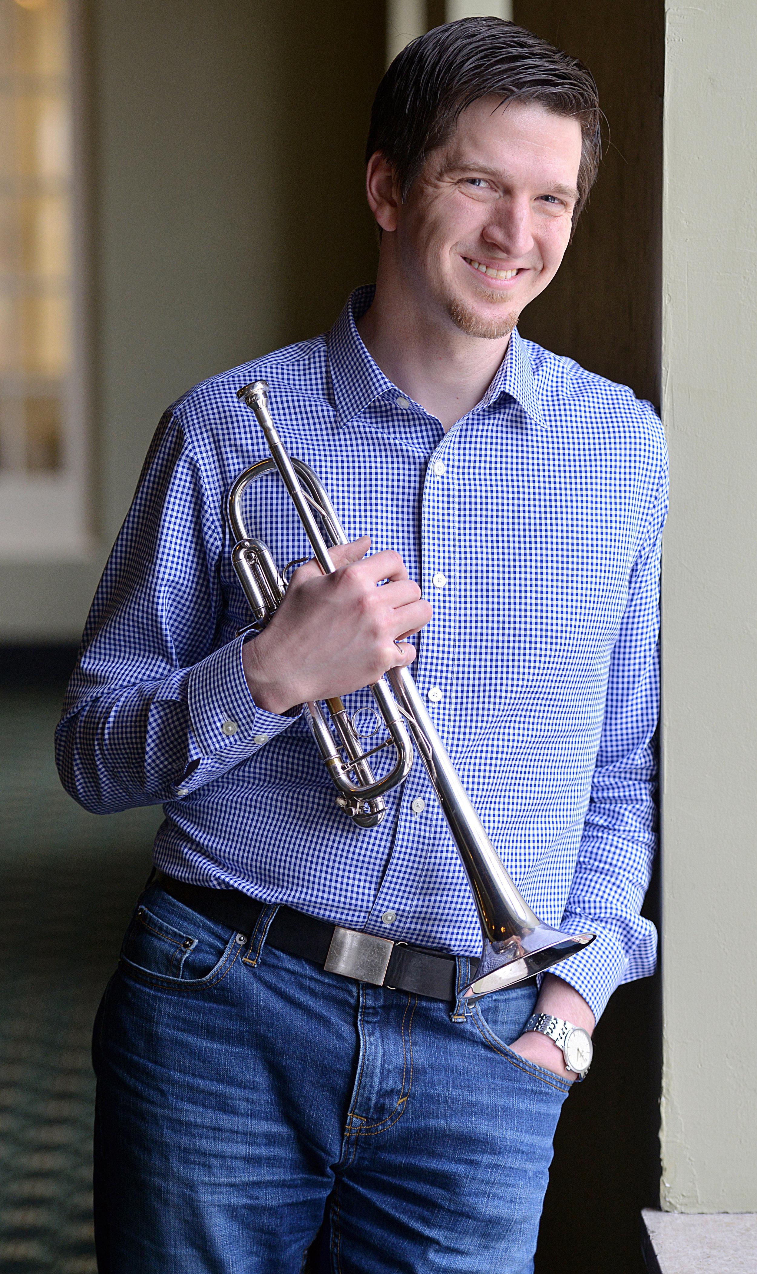 Fred Sienkiewicz, trumpet