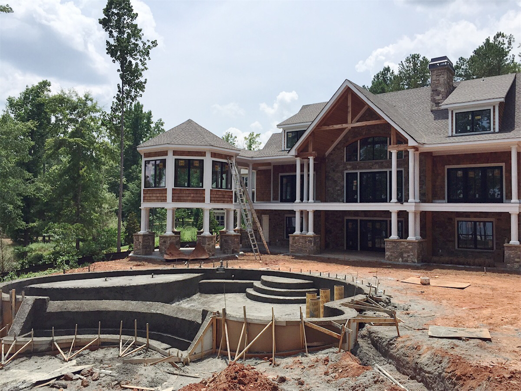 lake oconee lake house in progress exterior.jpg