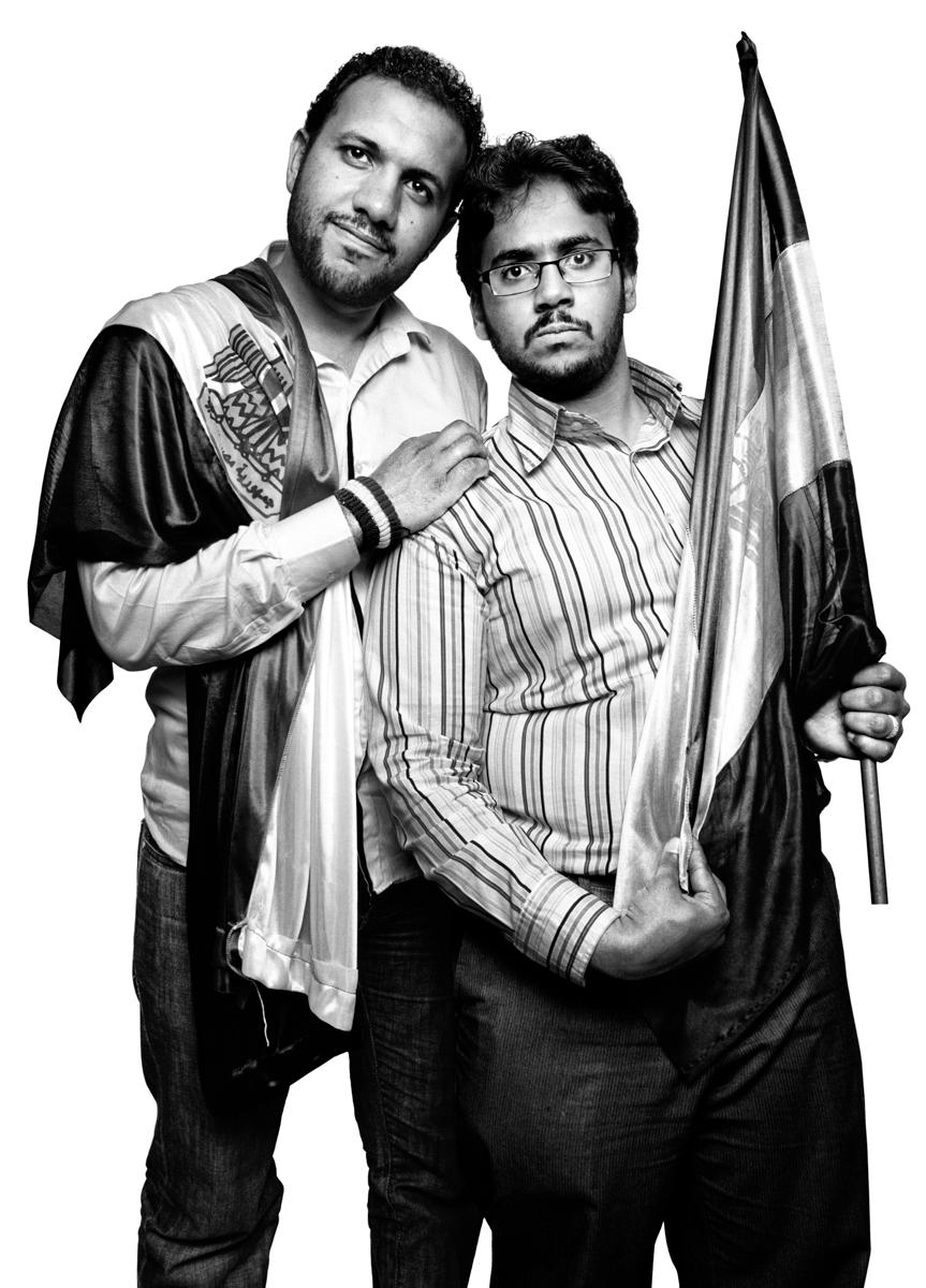 Mohammed Abbas and Moaz Abdel Karim