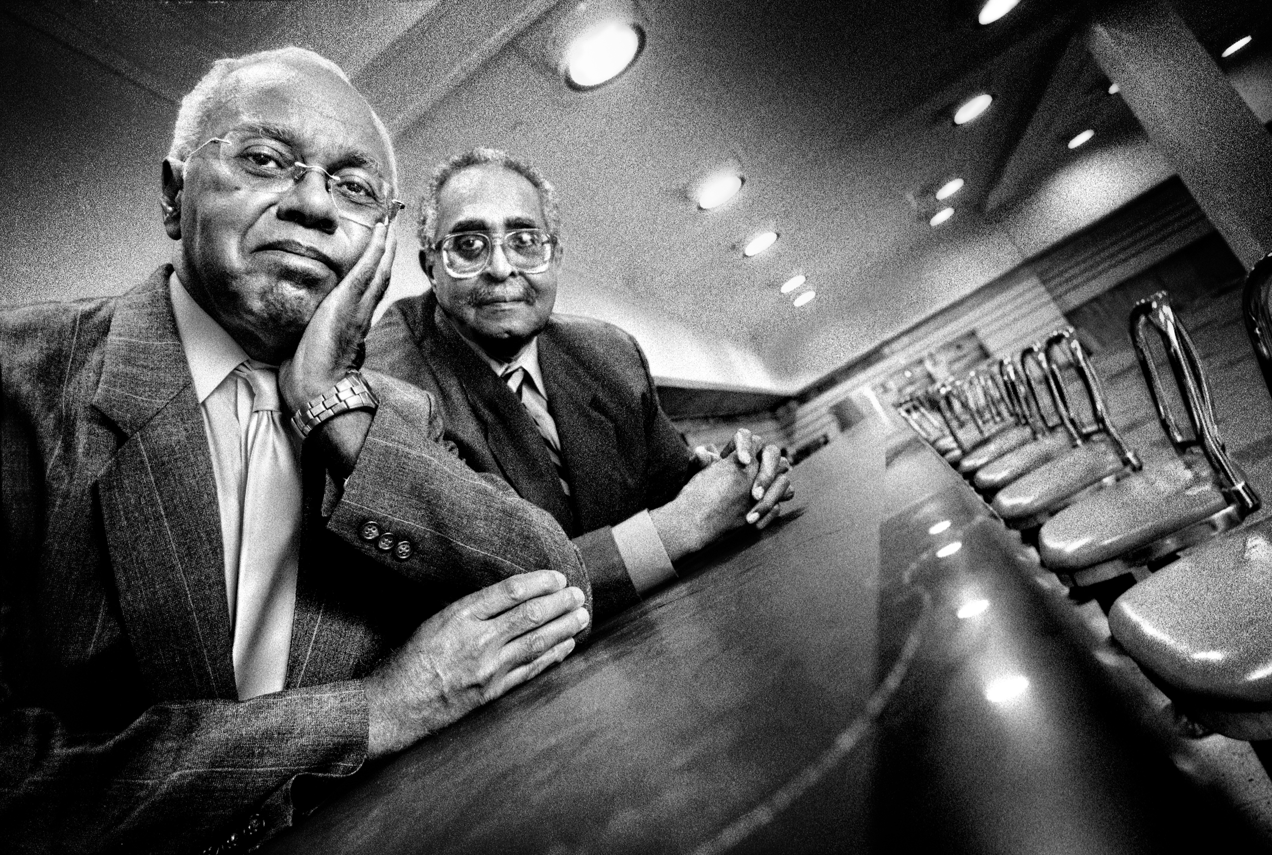 Joseph A McNeil and Franklin E. McCain | Greensboro, North Carolina | 2009