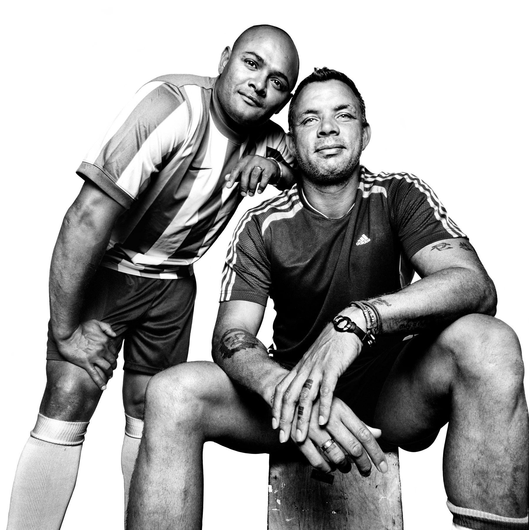 Shaun Bartlett and Mark Fish