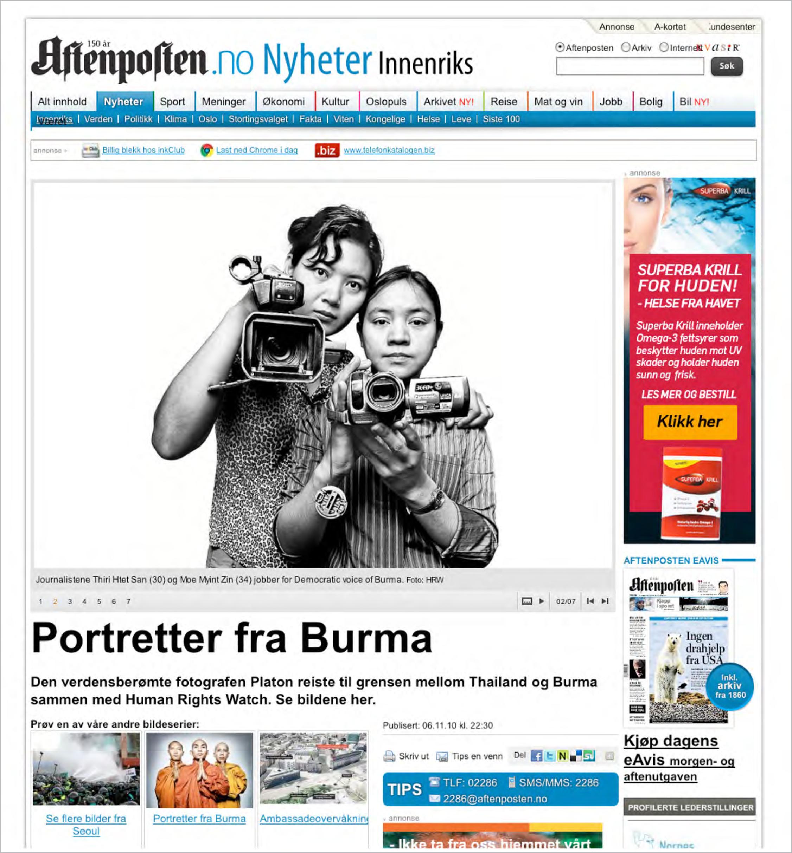 Aftenposten, Norway