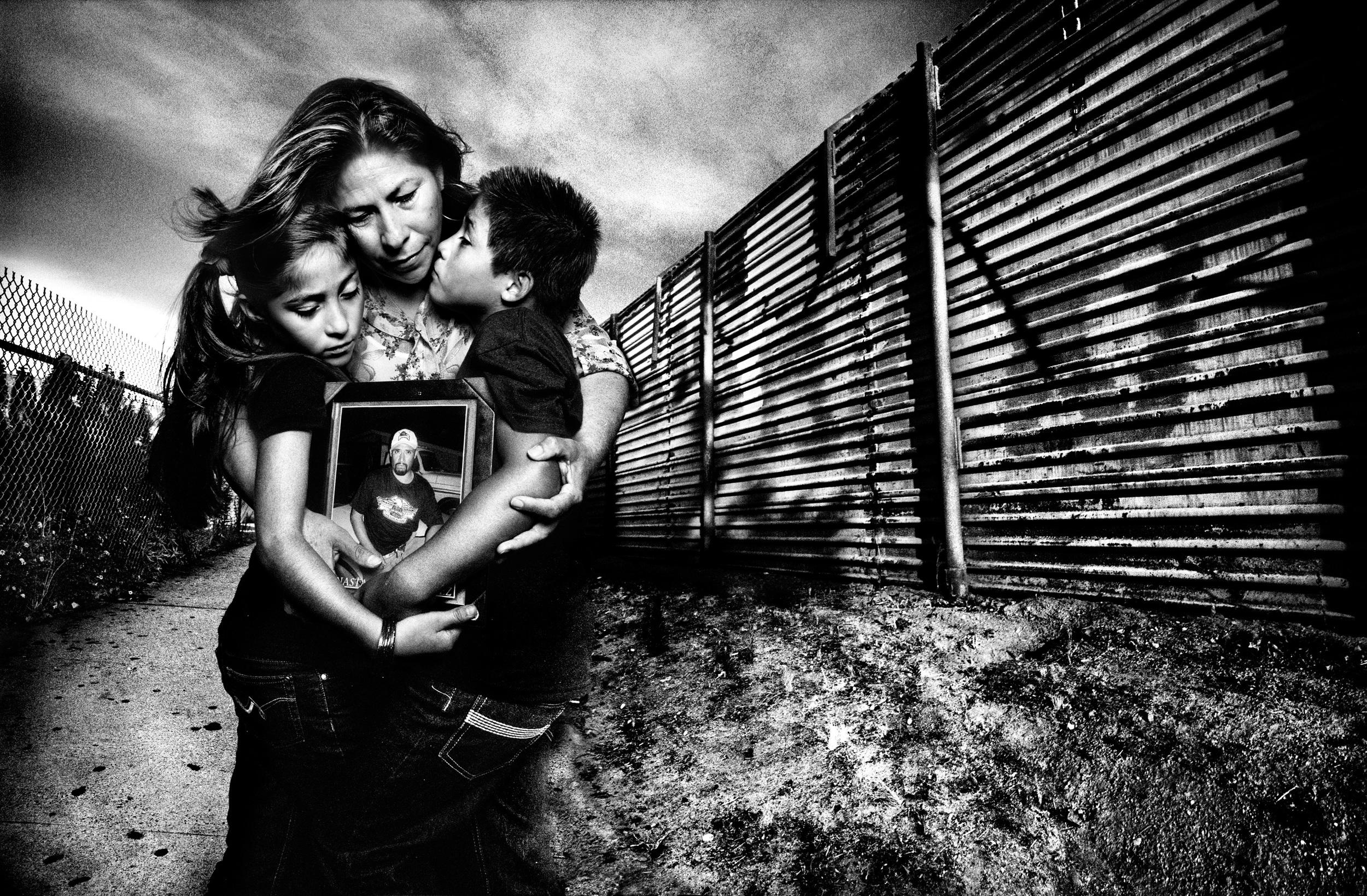 Maria Puga, 42, and her children | San Diego |