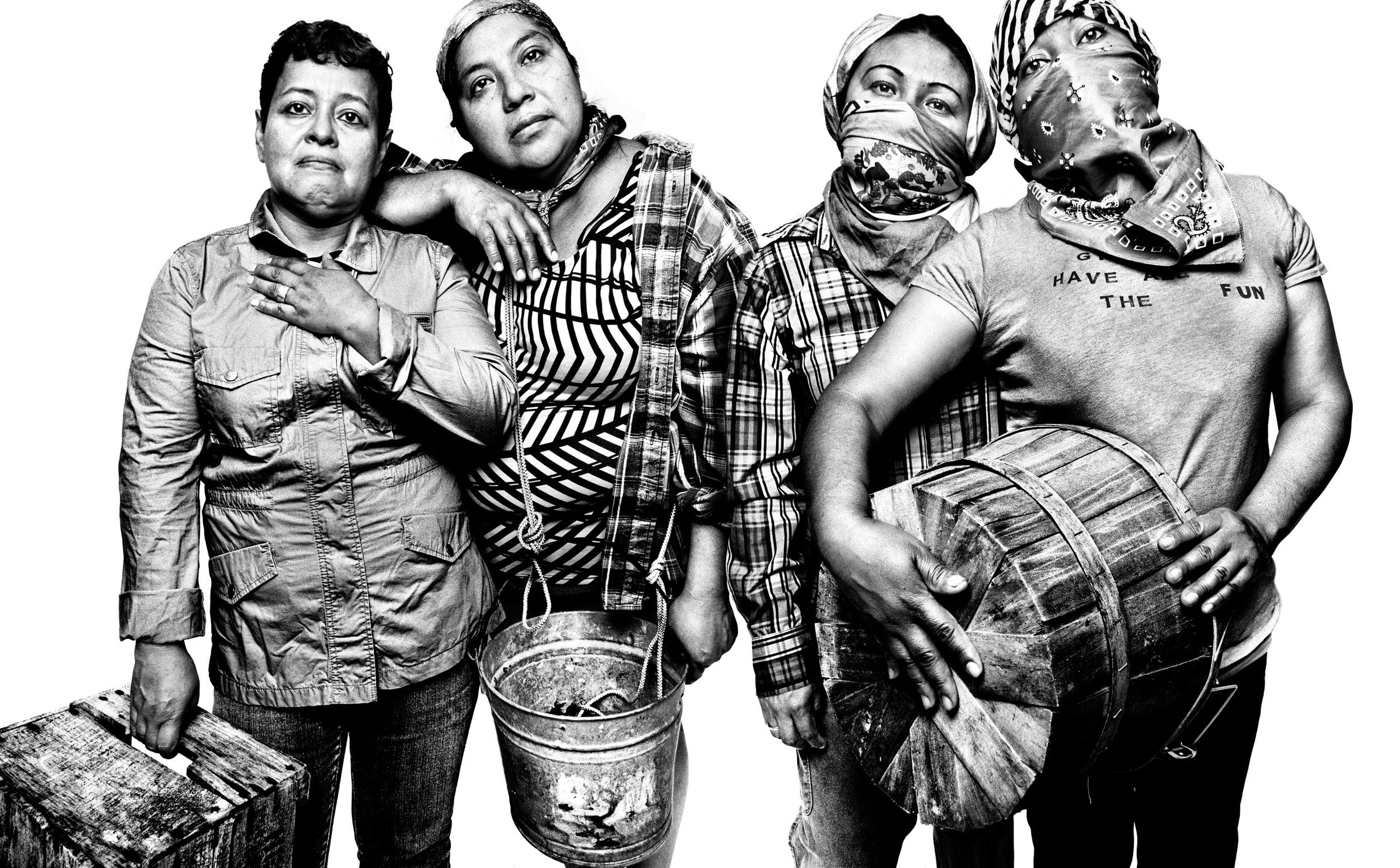 Alina Diaz, 53; Lidia Franco, 33; Gisela Castillo, 35; Marilu Nava-Cervantes, 46 | Washington, D.C. | July 15, 2013