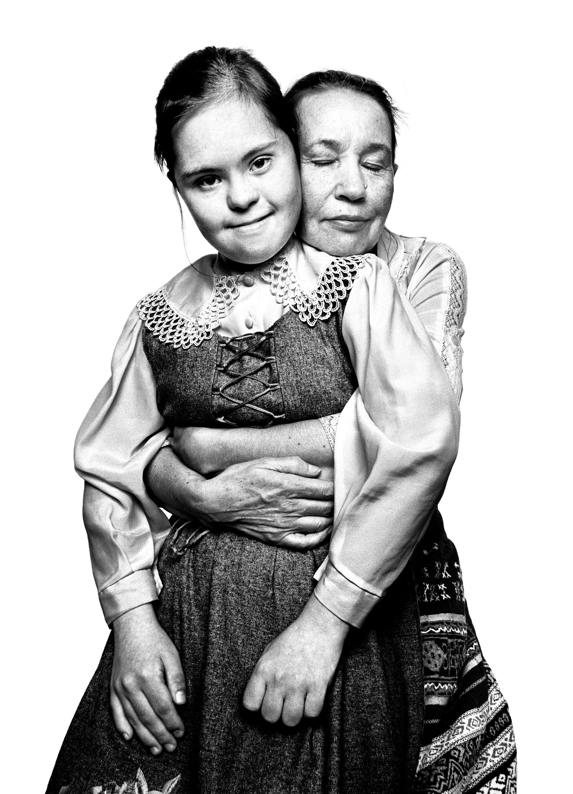 Vera Kocheshkova and her mother, Tatiana