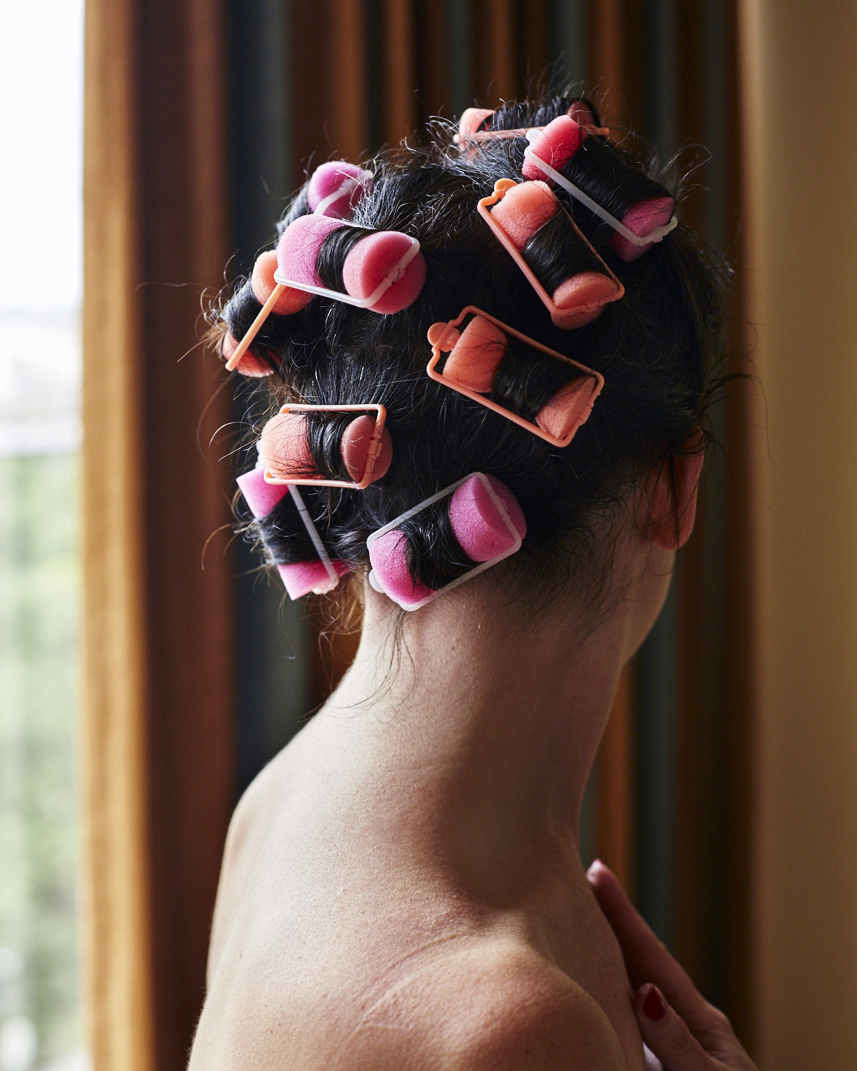 Curlers.