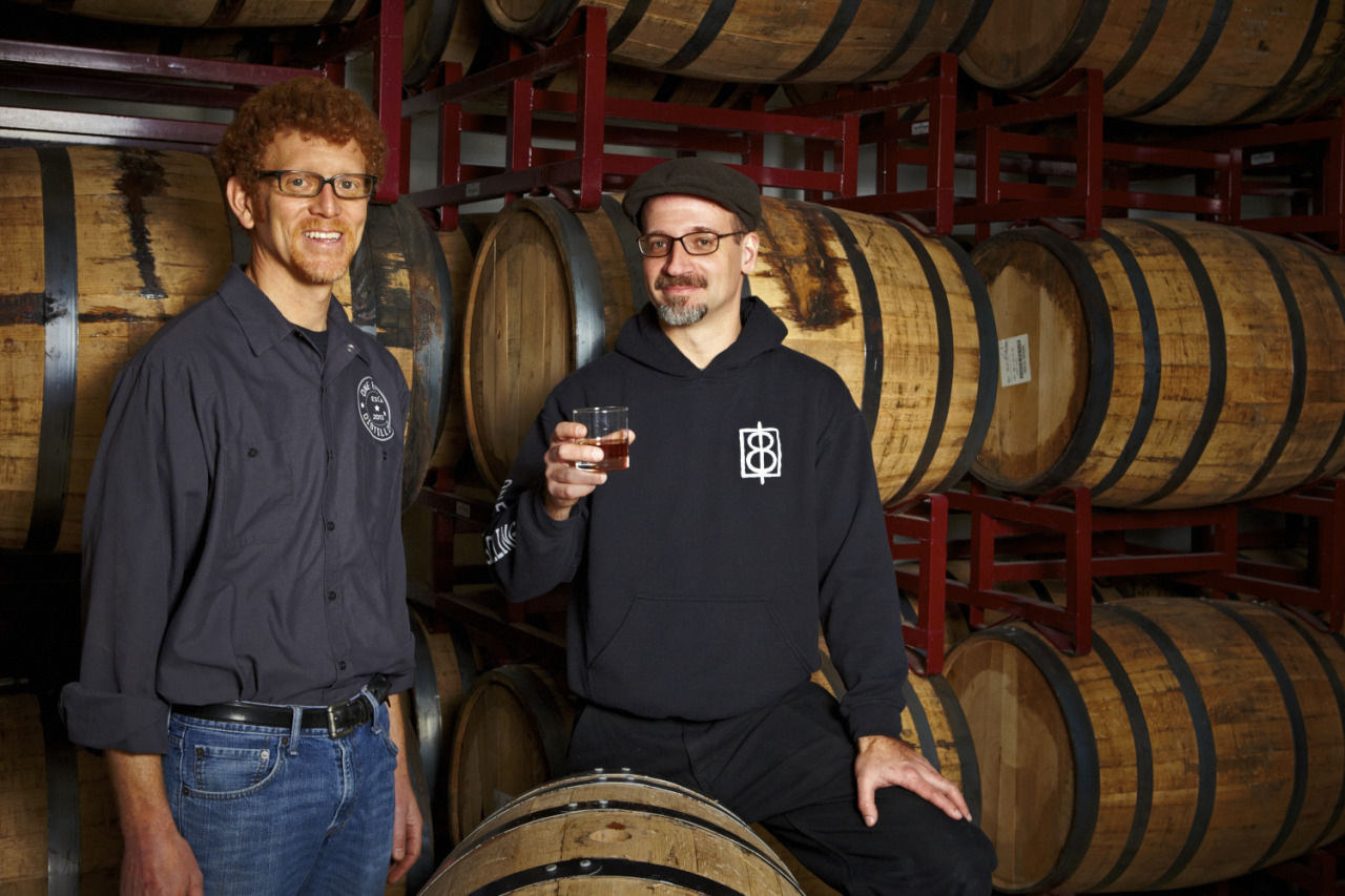 The founders of One Eight Distilling in DC.