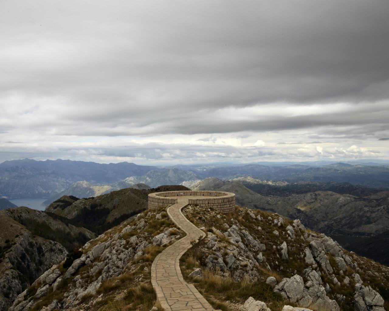 Mt. Loven in Montenegro.