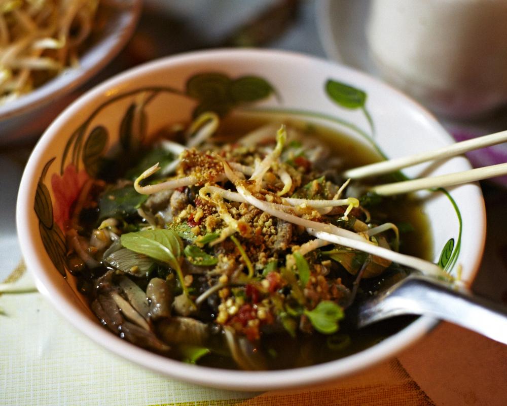 Noodle soup. Bangkok.