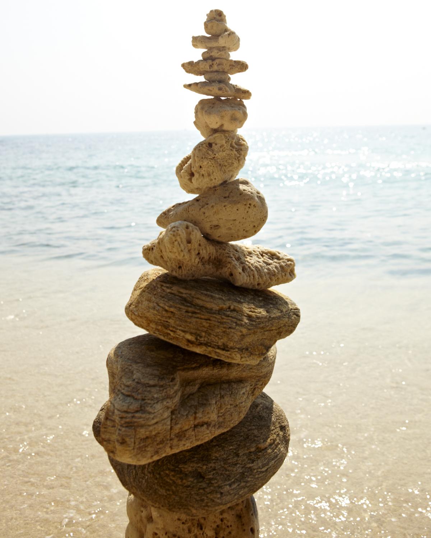 Balanced rocks. Ko Samet, Thailand