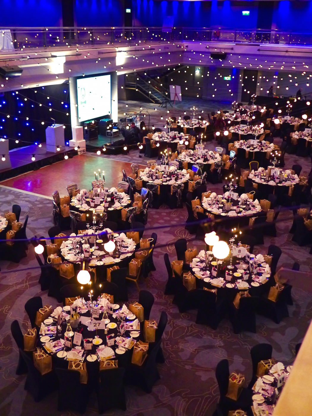 The view from above, pre-awards