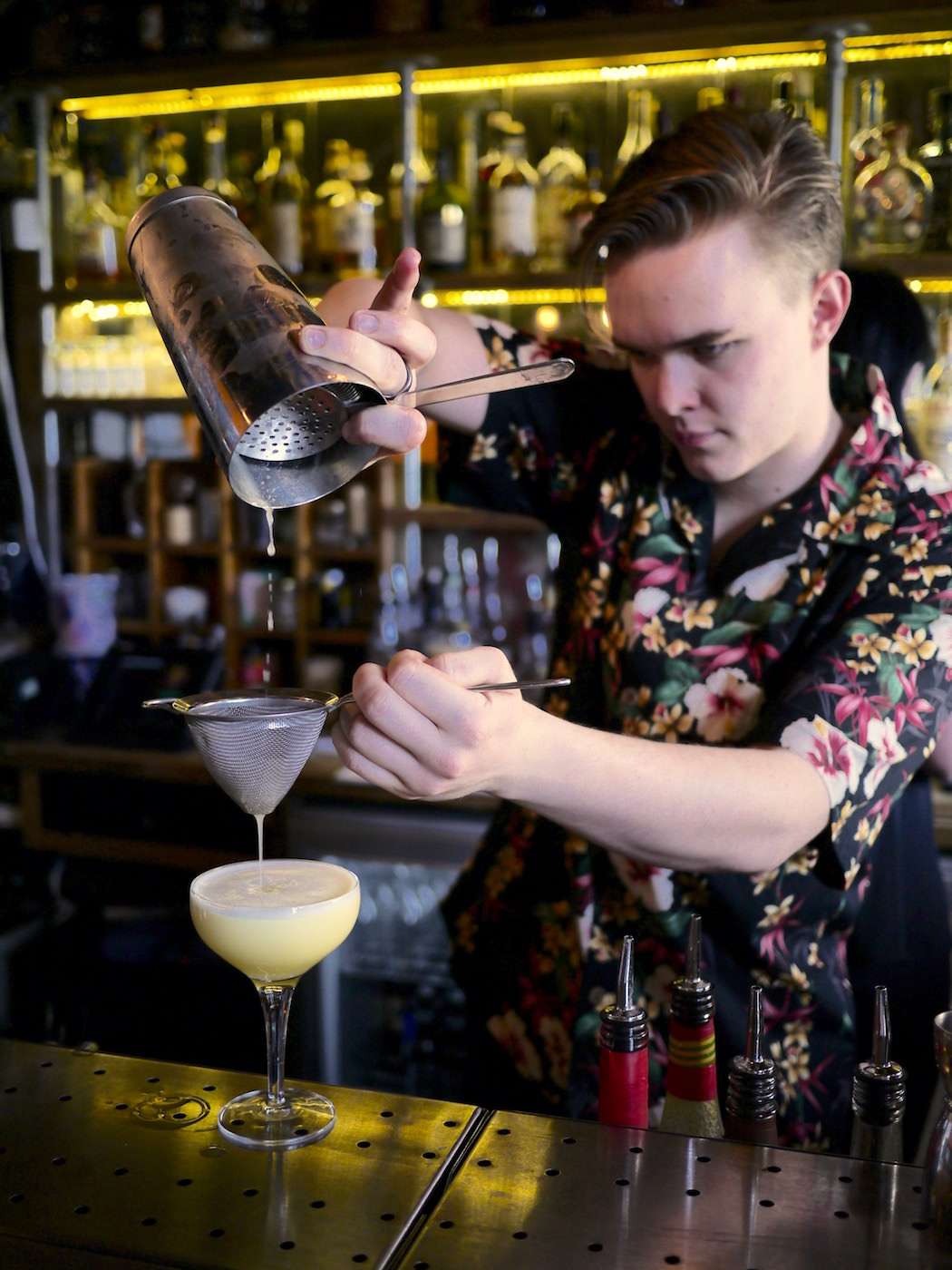 Max from The Cocktail Shack mixes 'Truth Be Told'