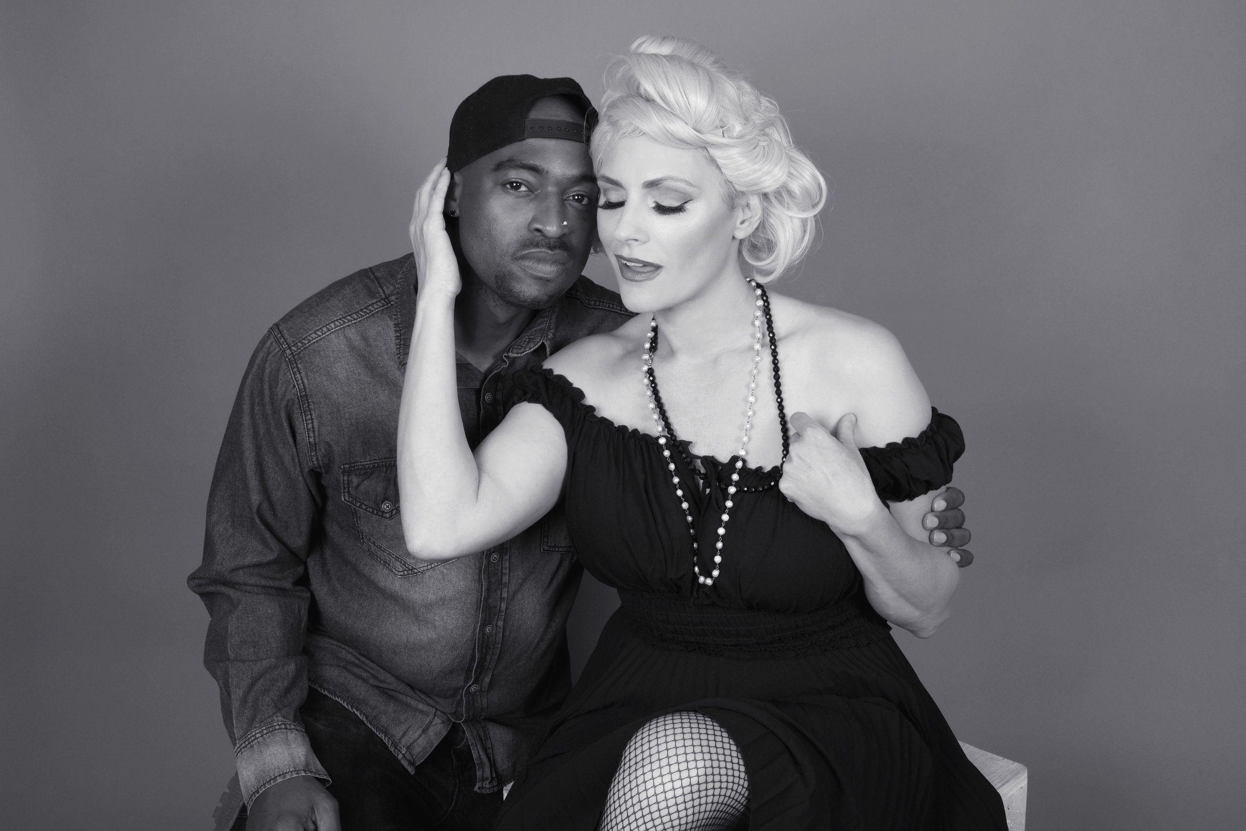 marilyn and tupac