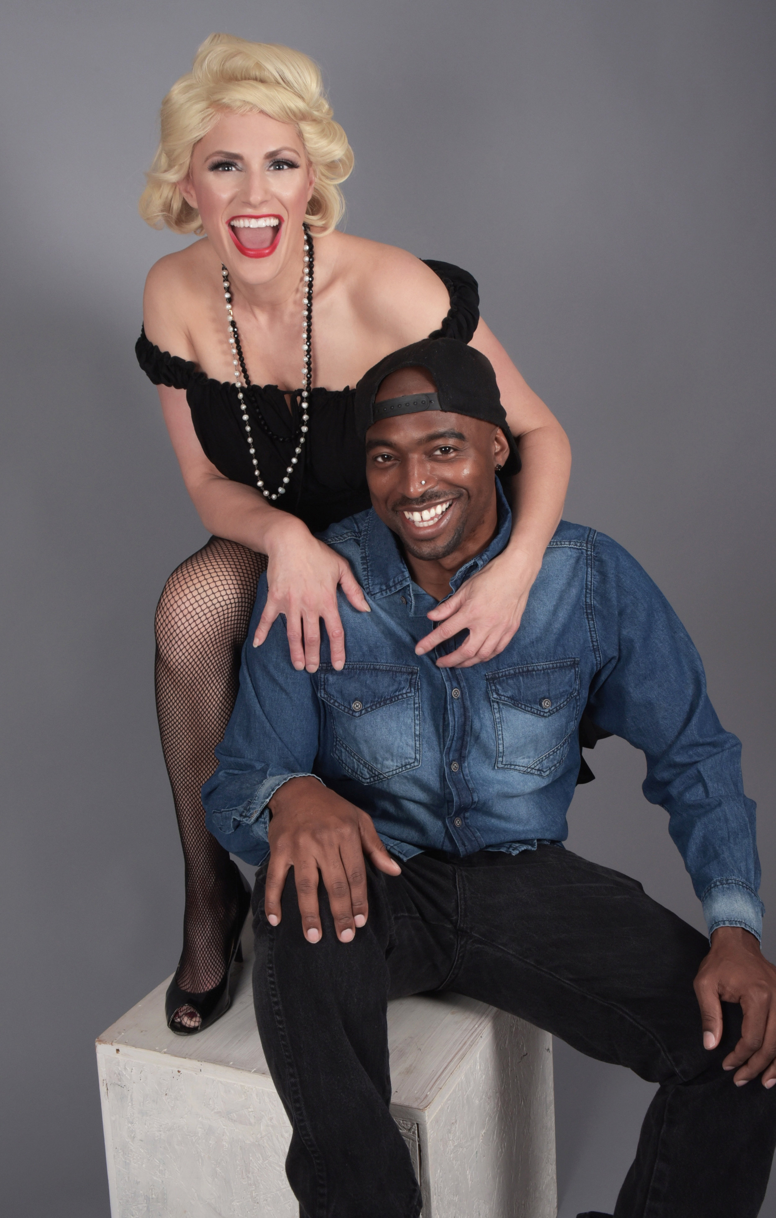 Lorraine Toth & Jermaine Wells - Hollywood Icon Impersonations for your event!