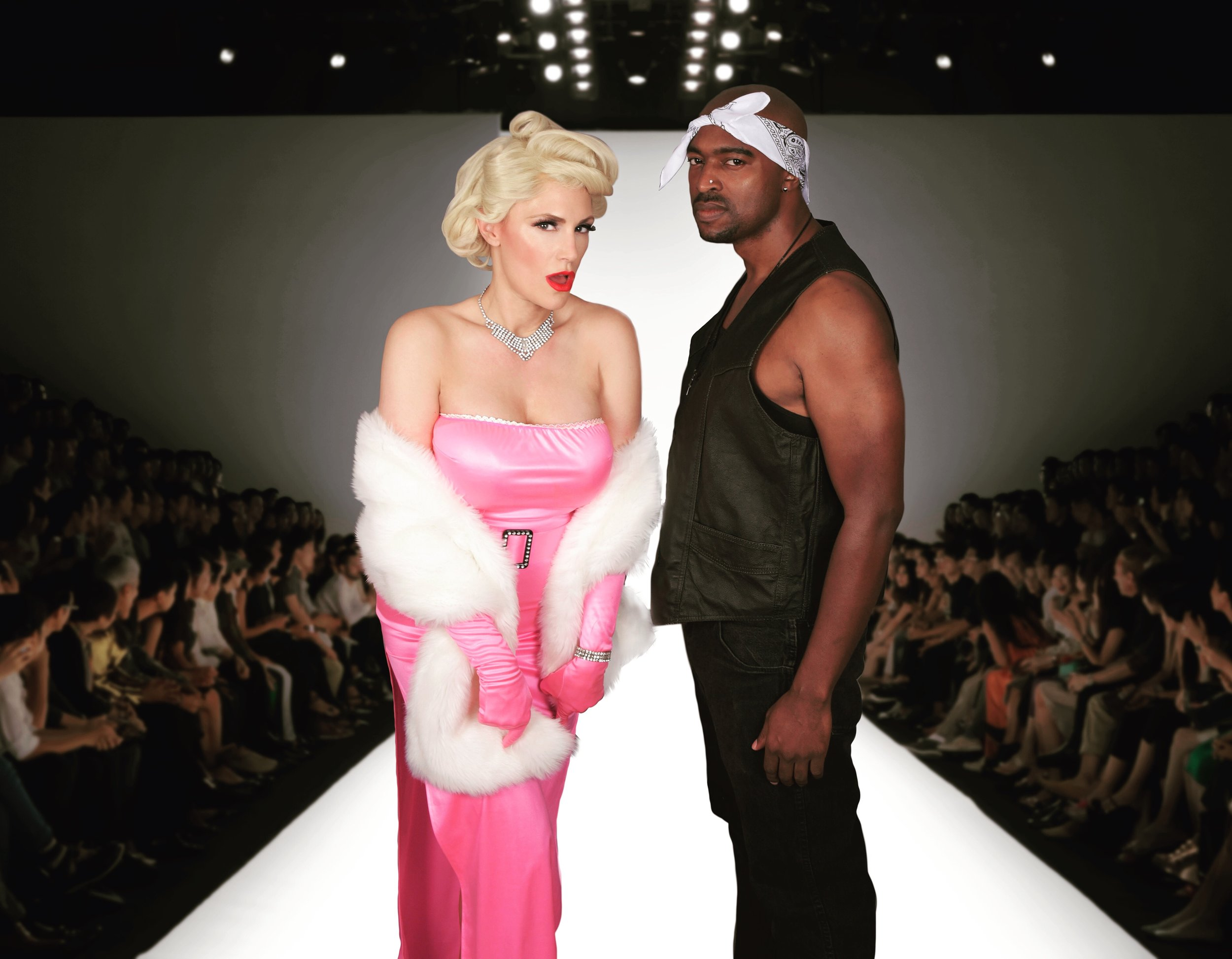 Have Marilyn and Tupac at your next event - the perfect photo op!