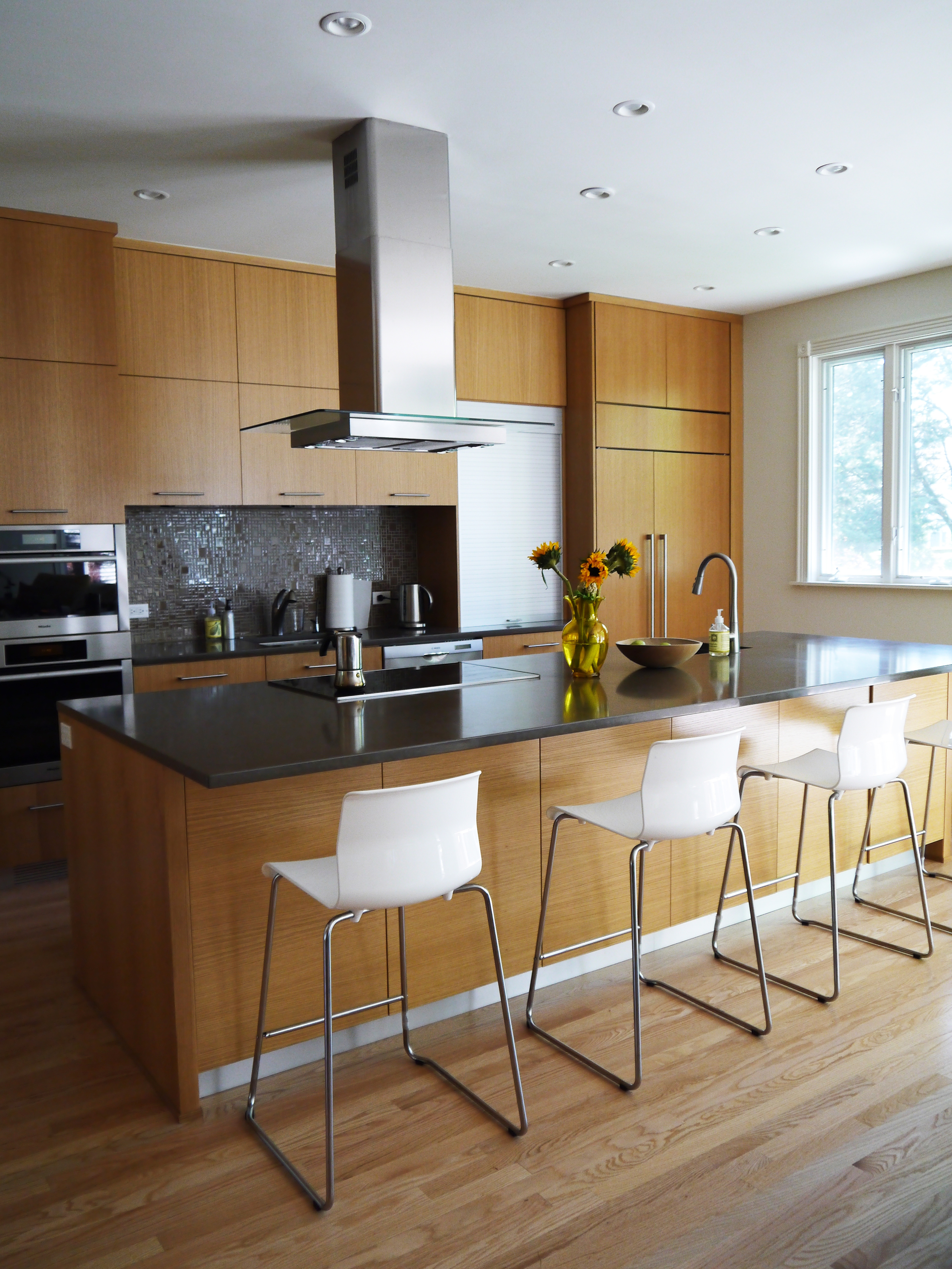 2 Point Perspective - Wilmette Residence Kitchen
