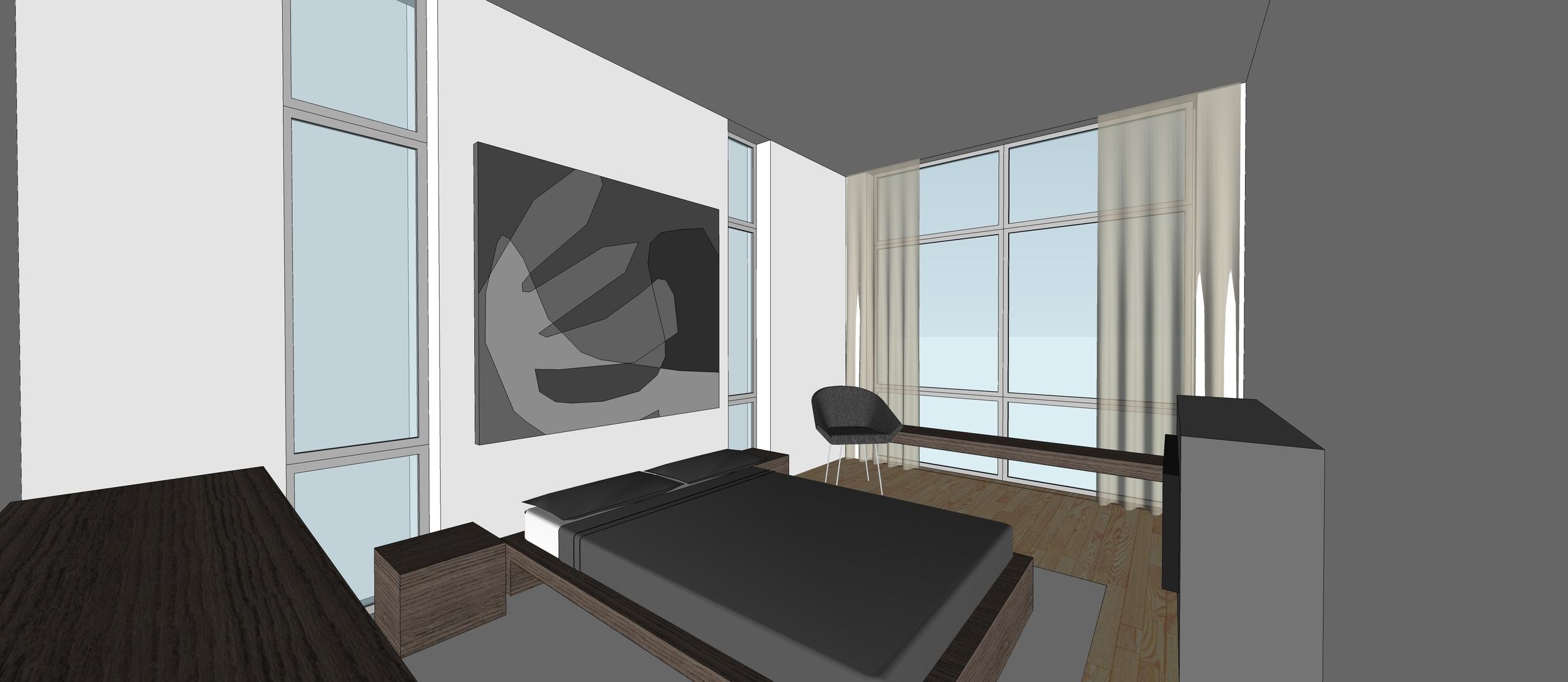 2 Point Perspective - Andersonville Residence (Bedroom).jpg